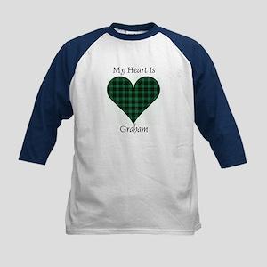 Heart - Graham Kids Baseball Jersey
