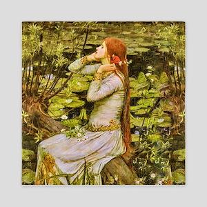 Waterhouse: Ophelia (1894) Queen Duvet