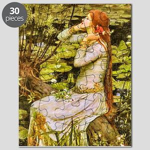 Waterhouse: Ophelia (1894) Puzzle
