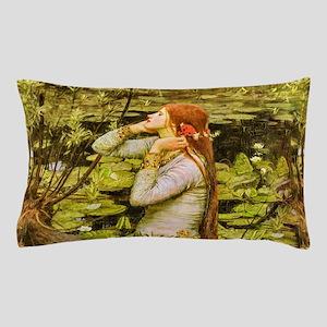 Waterhouse: Ophelia (1894) Pillow Case
