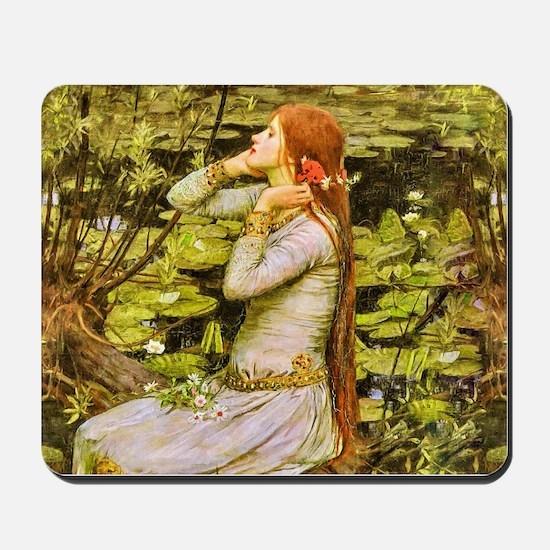 Waterhouse: Ophelia (1894) Mousepad