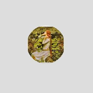 Waterhouse: Ophelia (1894) Mini Button