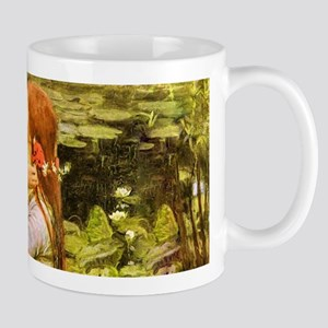 Waterhouse: Ophelia (1894) Mug