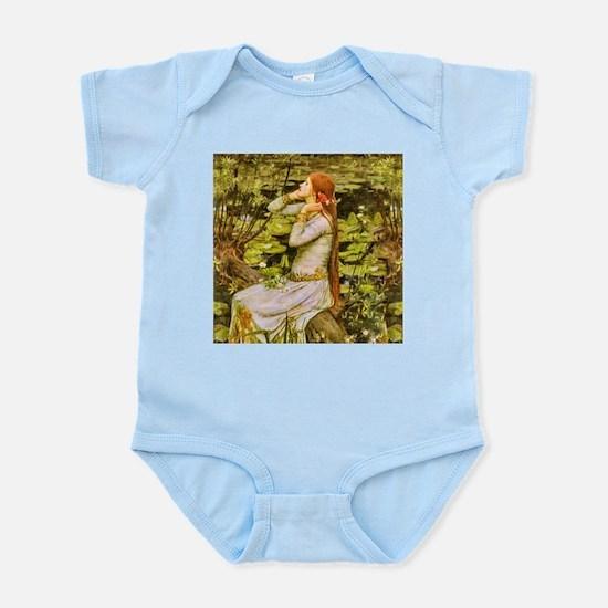 Waterhouse: Ophelia (1894) Infant Bodysuit