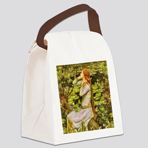 Waterhouse: Ophelia (1894) Canvas Lunch Bag