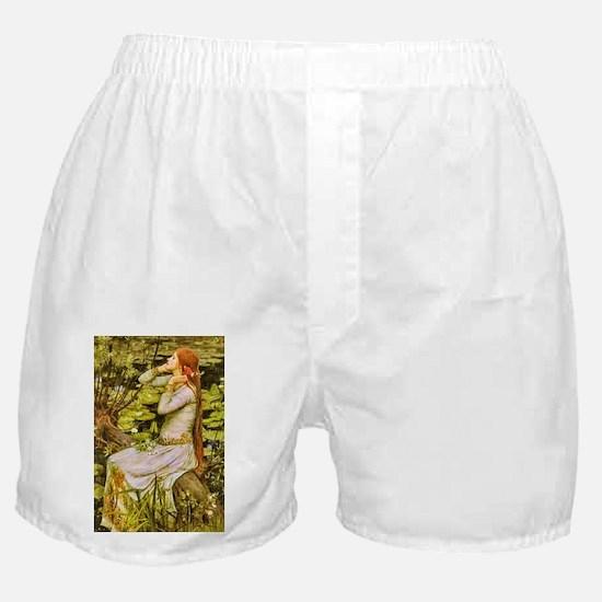 Waterhouse: Ophelia (1894) Boxer Shorts