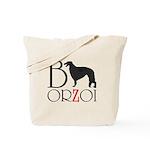 Borzoi Logo Tote Bag