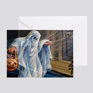 Ghostly Apparition Greeting Card