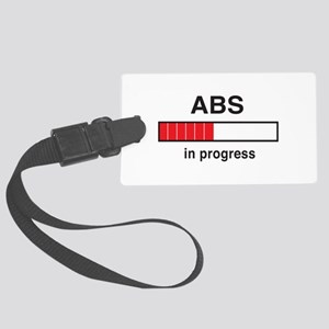 Abs in progress Luggage Tag
