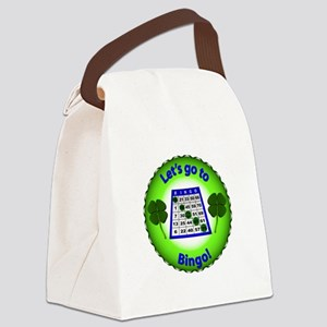 LetsGotoBingo Canvas Lunch Bag