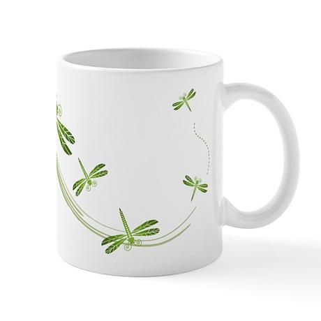 Dragonflies in Flight Mug