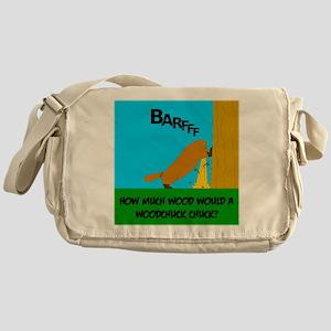 How much wood Messenger Bag