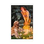 Fairies & Golden Sticker (Rectangle)