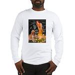 Fairies & Golden Long Sleeve T-Shirt