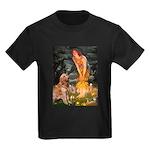 Fairies & Golden Kids Dark T-Shirt