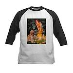 Fairies & Golden Kids Baseball Jersey
