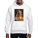 Fairies & Golden Hooded Sweatshirt