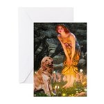 Fairies & Golden Greeting Cards (Pk of 10)