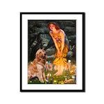 Fairies & Golden Framed Panel Print