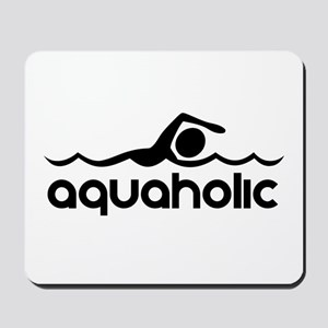 Aquaholic Mousepad