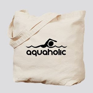 Aquaholic Tote Bag