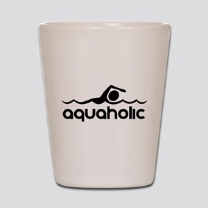 Aquaholic Shot Glass