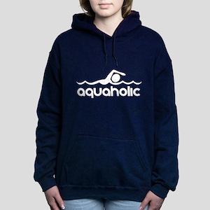 Aquaholic Women's Hooded Sweatshirt