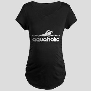 Aquaholic Maternity T-Shirt