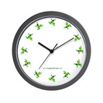 The Official Juggling Frogs wall clock