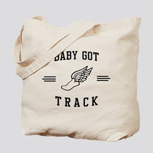 Baby got track Tote Bag