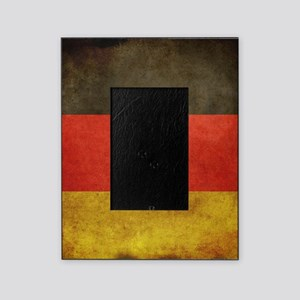 Grunge Germany Flag Picture Frame
