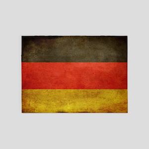 Grunge Germany Flag 5'x7'Area Rug