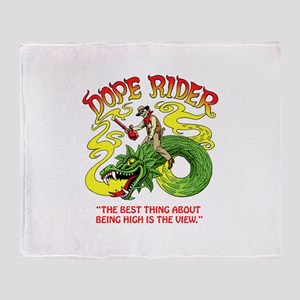 Dope Rider Throw Blanket