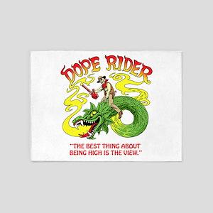 Dope Rider 5'x7'Area Rug