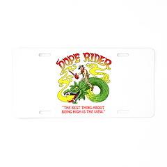 Dope Rider Aluminum License Plate