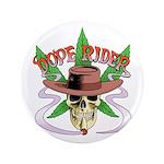 """Dope Rider Logo 3.5"""" Button"""