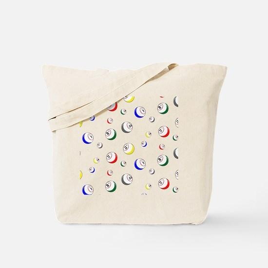Bingo Ball swatch Tote Bag