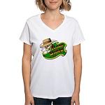 Dope Rider Women's V-Neck T-Shirt