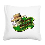 Dope Rider Square Canvas Pillow