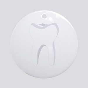 Molar Tooth Ornament (Round)