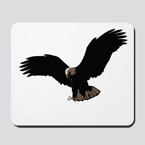 Flying Eagle - Outstretched Wings Mousepad