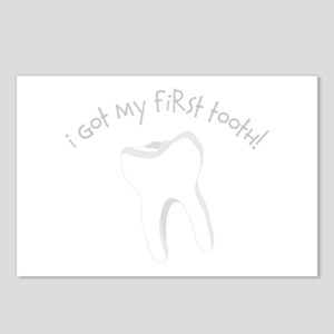 I Got My First Tooth! Postcards (Package of 8)