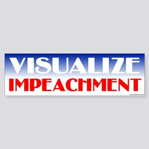 Visualize Impeachment Bumper Sticker