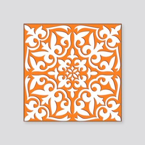 "Moroccan tile Square Sticker 3"" x 3"""