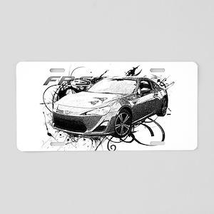 FRS Aluminum License Plate