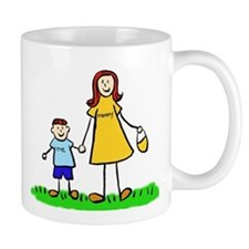 Mother and Son (Redhead) Mugs