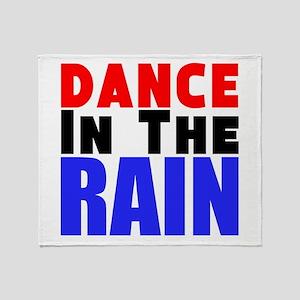 Dance in the Rain Throw Blanket