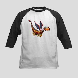 Goofy Flying Dragon Baseball Jersey