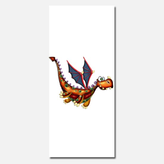 Goofy Flying Dragon Invitations