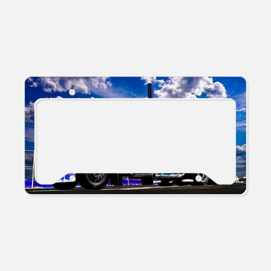 Funny Tractor License Plate Holder